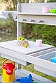 Roba® Outdoor-Spielküche »Fun Outdoor Deluxe« Holz, Kunststoff, mit Spielwannen, Bild 3