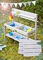 Roba® Outdoor-Spielküche »Fun Outdoor Deluxe« Holz, Kunststoff, mit Spielwannen, Bild 5