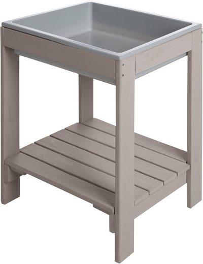 Roba® Spieltisch »Outdoor Spieltisch Tiny Deluxe«, mit Spielwanne