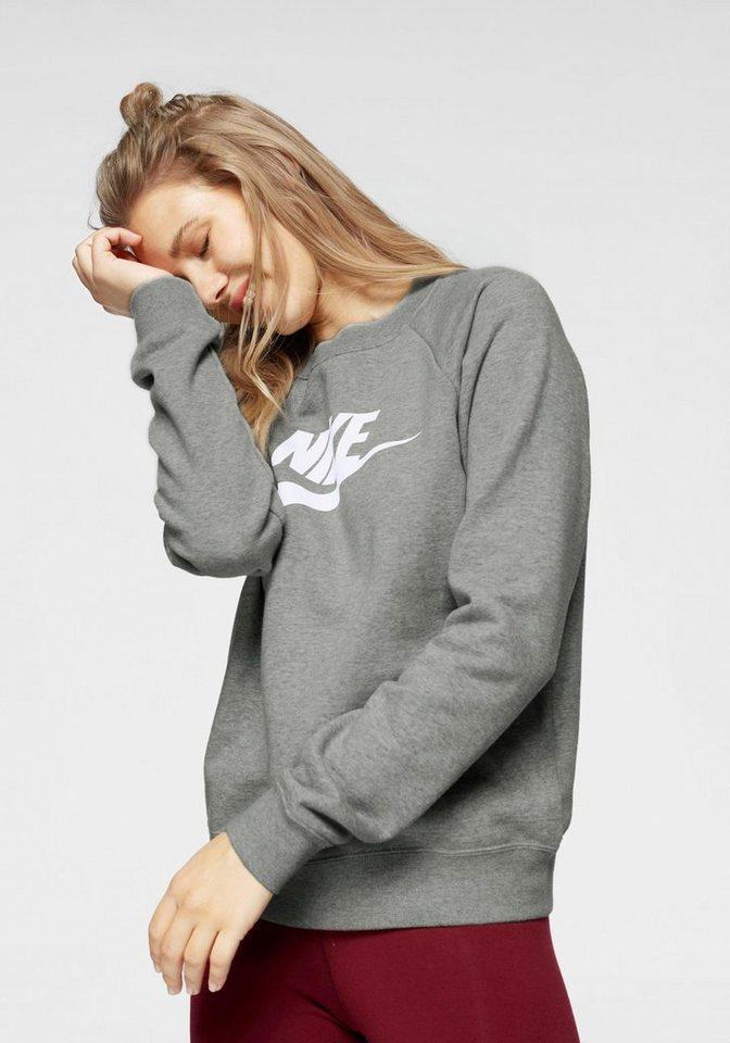 official supplier outlet store sale lower price with Nike Sportswear Sweatshirt »W NSW ESSNTL CREW FLC HBR« online kaufen | OTTO