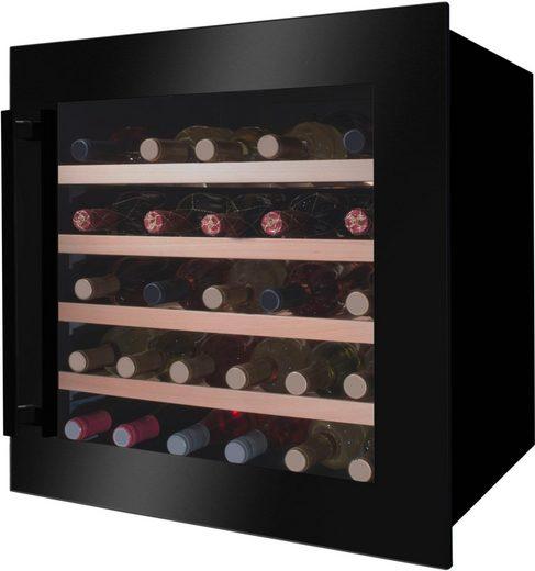 Amica Einbauweinkühlschrank WK 341 210 S, für 40 Standardflaschen á 0,75l,LED-Beleuchtung