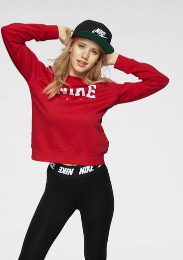 Nike Sportswear Sweatshirt »W NSW CREW FLC HBR VRSTY BA«