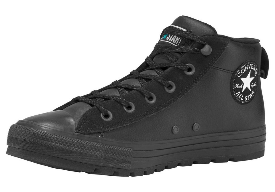 converse chuck taylor all star street leather mid. Black Bedroom Furniture Sets. Home Design Ideas