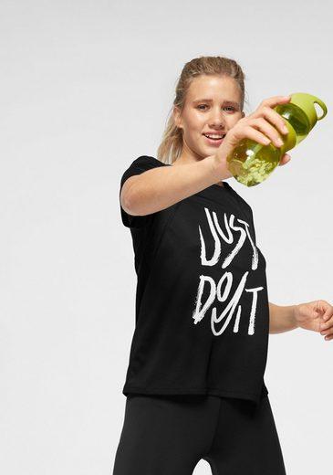 Nike Laufshirt »W NK RUN TOP SS GX«