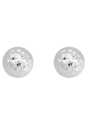Firetti Paar Ohrstecker »Kugeln, diamantiert«