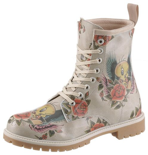 DOGO »Tweety with Roses« Schnürboots