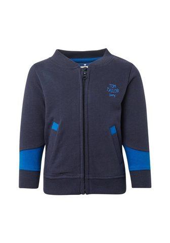 TOM TAILOR Bliuzonas Marškinėliai su Reißverschlu...