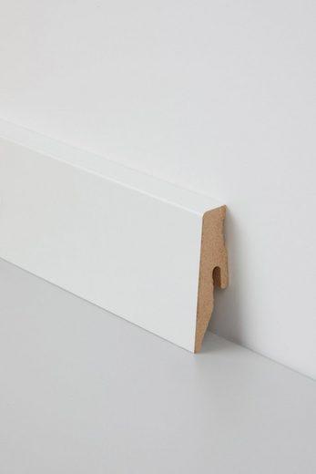BODENMEISTER Sockelleiste »Korkleiste«, praktisches 2er-Pack, Höhe 6 cm
