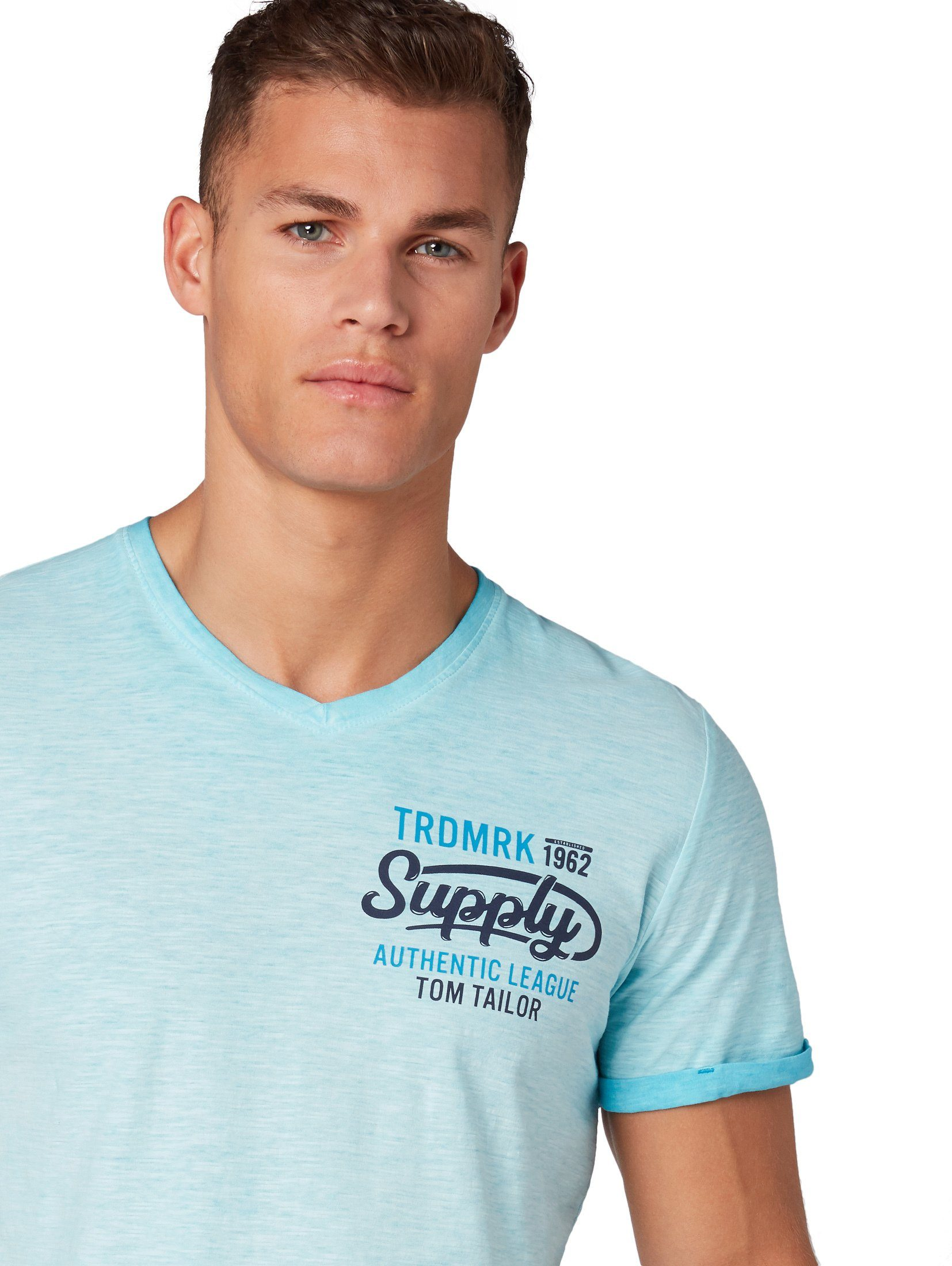 shirt« »meliertes Tailor Tom T Kaufen T shirt be29WEDHIY