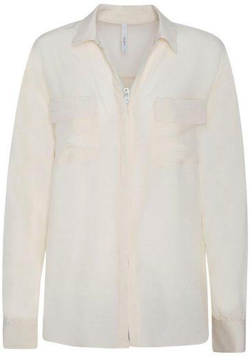 Pepe Jeans Hemdbluse »SARAH« in leicht transparenter Qualität