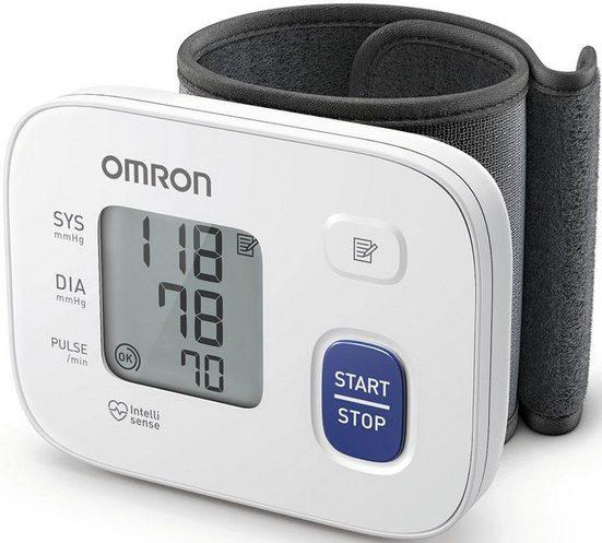 Omron Handgelenk-Blutdruckmessgerät RS1 (HEM-6160-E), für zu Hause und unterwegs