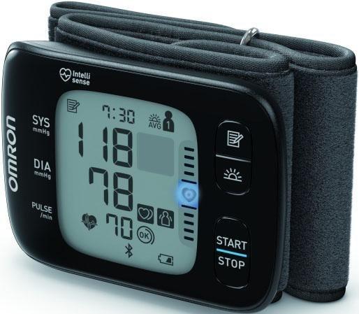 Omron Handgelenk-Blutdruckmessgerät RS7 Intelli IT (HEM..
