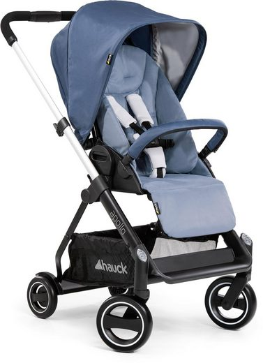 Hauck Sportbuggy »Apollo, denim«, inkl. Beindecke