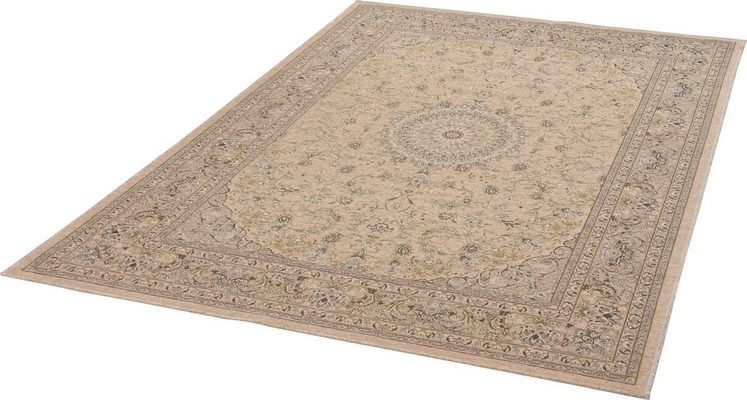 Teppich »Flomi Classic«, THEKO, rechteckig, Höhe 4 mm, Klassisches Design
