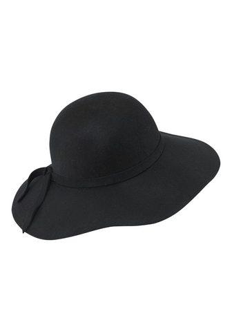 HEINE Skrybėlė su madingas platus Krempe