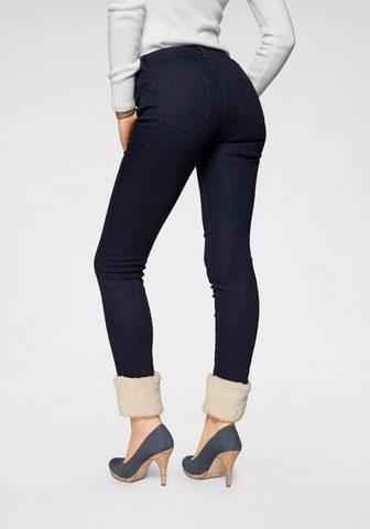 Узкие джинсы »mit Teddyfell&laqu...
