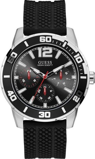 Guess Multifunktionsuhr »TRECK, W1250G1«