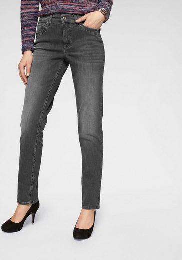 MAC Gerade Jeans »Melanie New« Neue Teilungsnähte an den vorderen Taschen