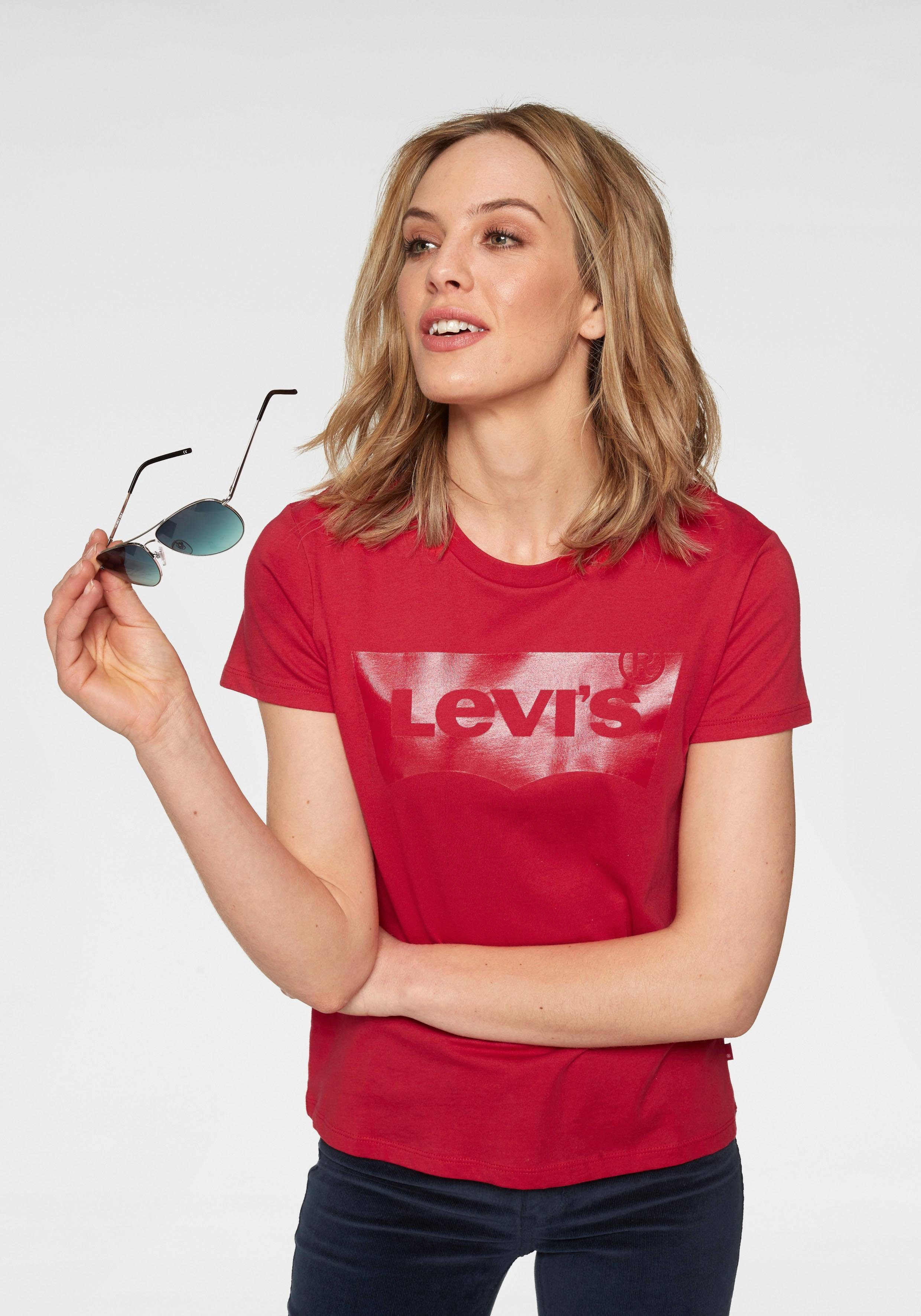 Levi's® T Shirt »The Perfect Tee« mit Logoprint