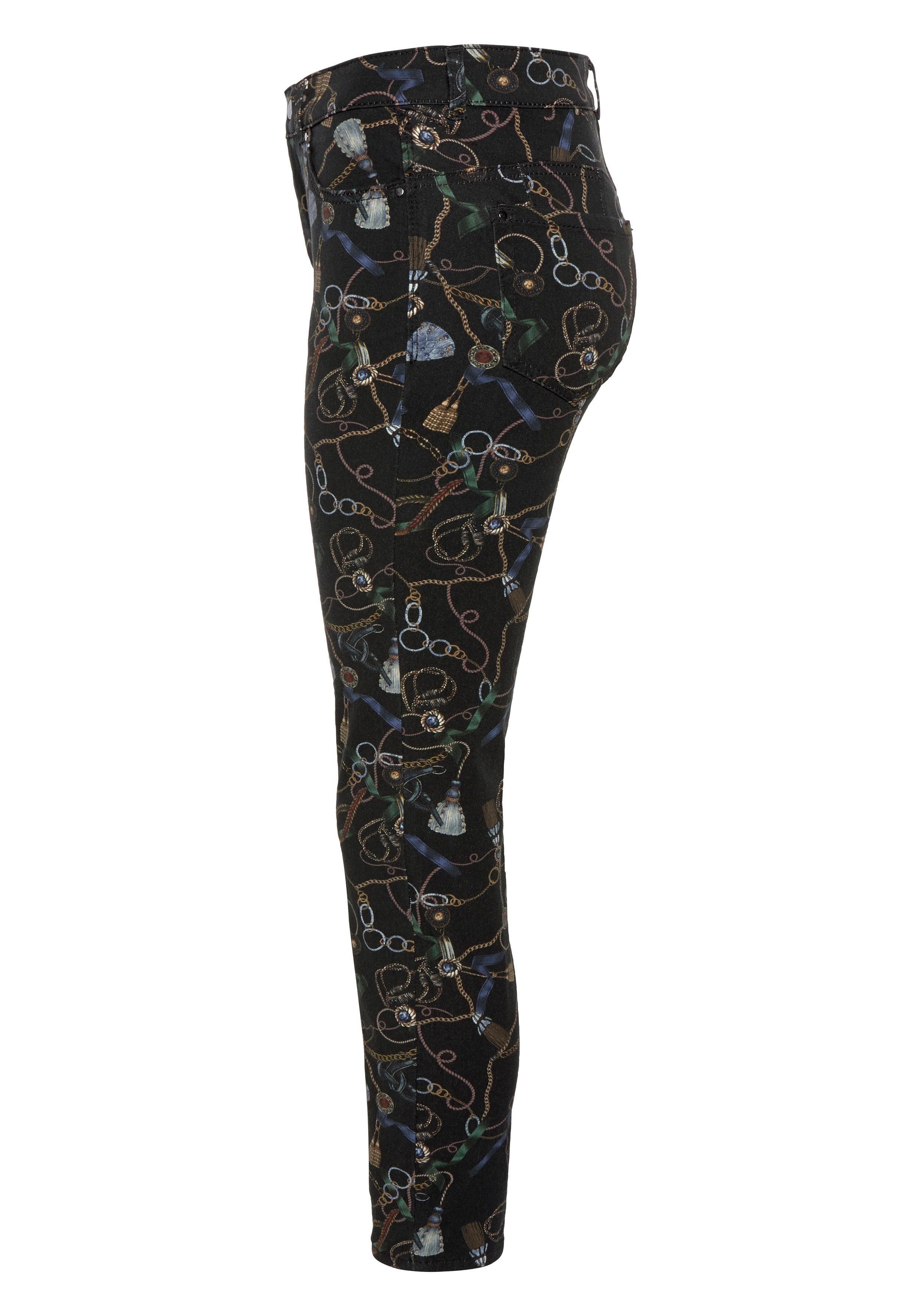 fit chain Angesagtem »skinny Schmale Skinny Skinny Mit form Mac Print« Online Ketten jeans Kaufen print LqSzjpUMGV