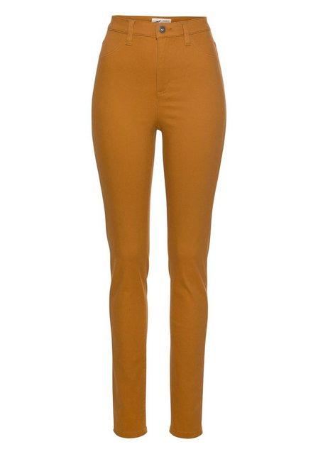 Hosen - Arizona Jeansjeggings »in Coloured Denim« High Waist › braun  - Onlineshop OTTO