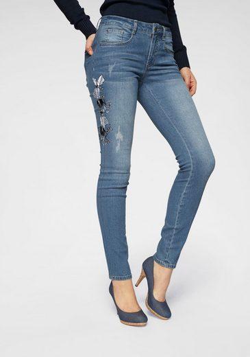 Arizona Slim-fit-Jeans Mid Waist