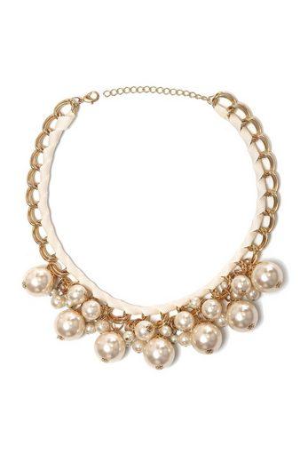 COLLEZIONE ALESSANDRO Kette mit Anhänger »Trixi« mit unterschiedlichen Perlen