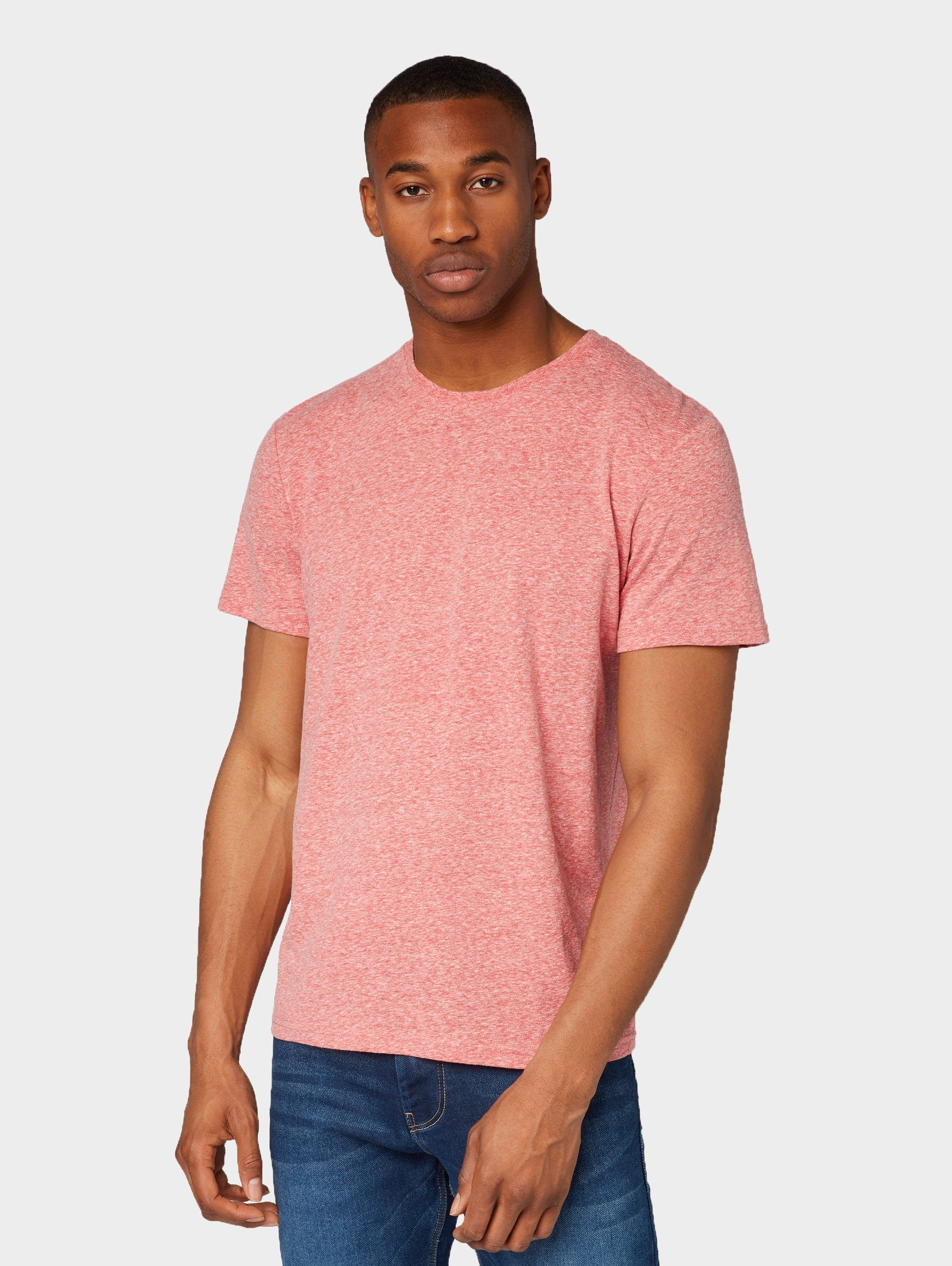 T Tom shirt Kaufen »meliertes Tailor T shirt« 3RcS4j5ALq