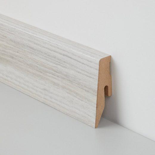 BODENMEISTER Sockelleiste »Laminat«, im praktischen 2er-Pack, Höhe 6 cm