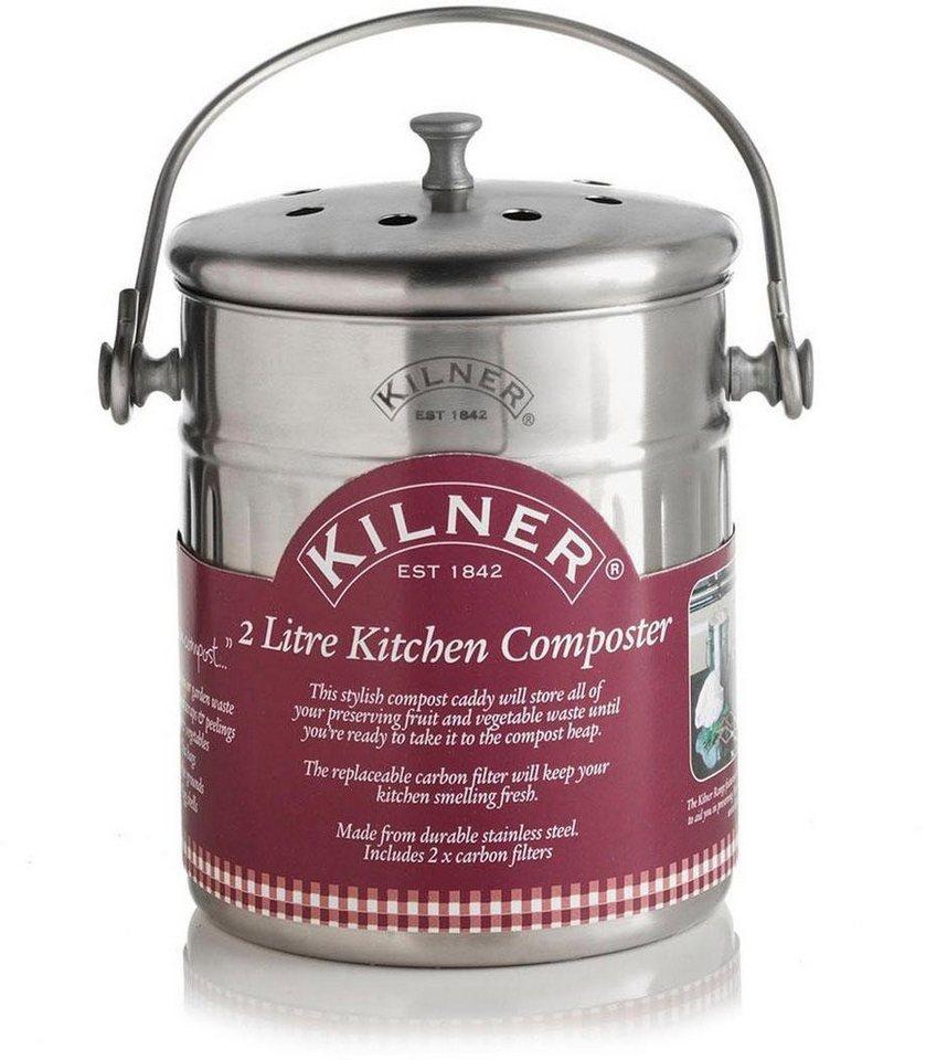 "KILNER Biomülleimer »""Küchen-Komposter""«, inkl. 200 Kohlefilter, 200 Liter  online kaufen  OTTO"