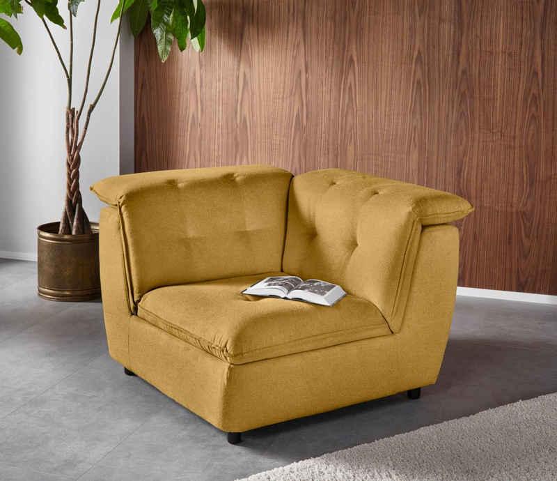 Places of Style Sofa-Eckelement »Hoskins«, Modul-Sofa für eine inviduelle Kombination