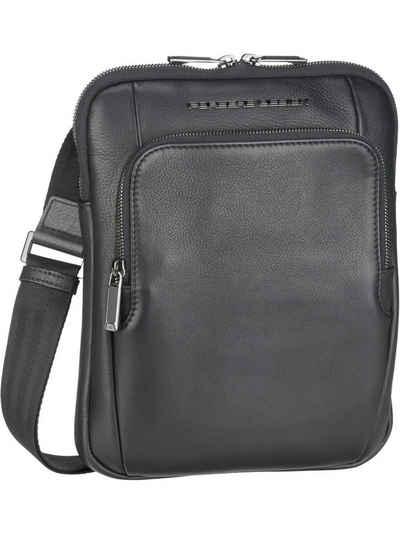 PORSCHE Design Umhängetasche »Roadster Leather Shoulderbag S 1511«, Umhängetaschen Hochformat