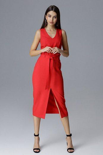 FIGL Midi-Kleid in elegantem Design