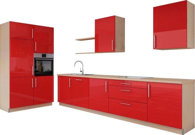 set one by Musterring Küchenzeile »Navaro«, ohne Geräte, Breite 331 cm + 120 cm, rechts, vormontiert