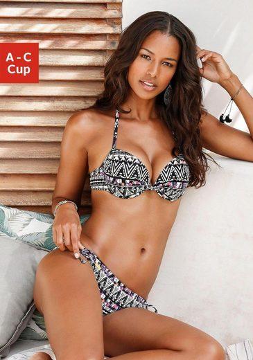 LASCANA Push-Up-Bikini-Top »Yuca«, mit integrierter Verstärkung