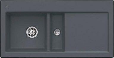 Villeroy & Boch Einbauspüle mit Abtropffläche »Subway 60«, Becken links, 100 cm breit