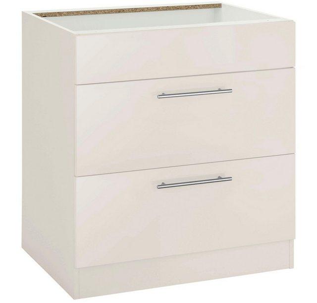 Küchenschränke - wiho Küchen Kochfeldumbauschrank »Cali« 60 cm breit, ohne Arbeitsplatte  - Onlineshop OTTO