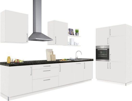 set one by Musterring Küchenblock »Tomar«, mit Geräte, Breite 331 cm + 120 cm, vormontiert