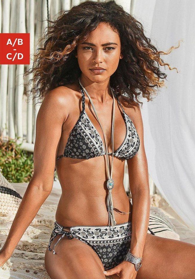 Bademode - JETTE Triangel Bikini mit Hose zum Binden ›  - Onlineshop OTTO