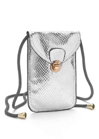 57ef839ef1efc Handtasche in silber online kaufen