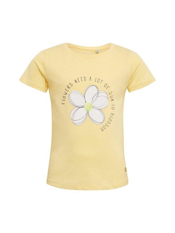 2c3aeb4b85 TOM TAILOR T-Shirt »T-Shirt mit Brust-Print«   OTTO