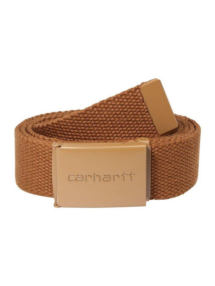 Carhartt WIP Stoffgürtel »Clip Belt Tonal« | Accessoires > Gürtel > Stoffgürtel | Braun | Carhartt WIP