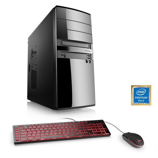 CSL Multimedia PC, Pentium G5400, Intel UHD 610, 8 GB DDR4, SSD »Speed T1965 Windows 10 Home«