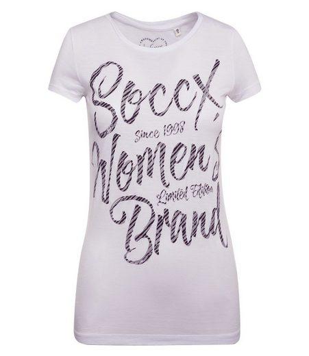 SOCCX T-Shirt mit Print