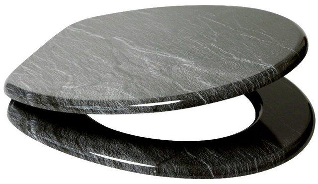 WCs und Zubehör - SANILO WC Sitz »Granit«, mit Absenkautomatik  - Onlineshop OTTO