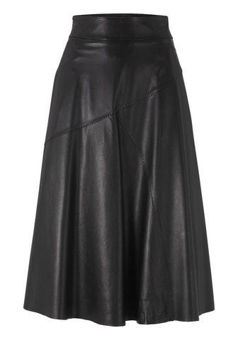 HEINE TIMELESS кожаная юбка в ausgestellter ...