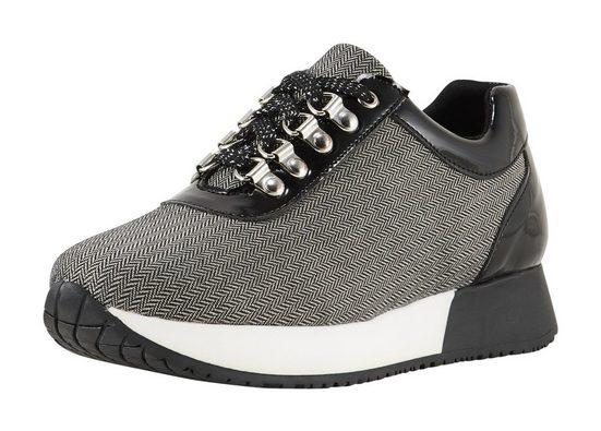Heine Sneaker mit Fischgrat-Muster