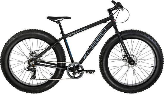 KS Cycling Fatbike »Xceed«, 7 Gang Shimano Tourney Schaltwerk, Kettenschaltung