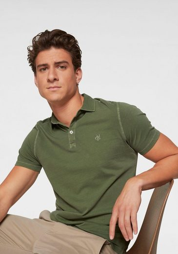 Marc O'Polo Poloshirt Jersey-Qualität in Garment Dyed