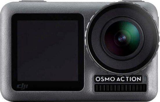 dji »OSMO Action Cam« Action Cam (4K Ultra HD, Bluetooth, WLAN (Wi-Fi), Digitale Actionkamera mit 2 Bildschirmen, 11m wasserdicht, 4K HDR-Video, 12MP, 145° Winkelobjektiv Kamera)